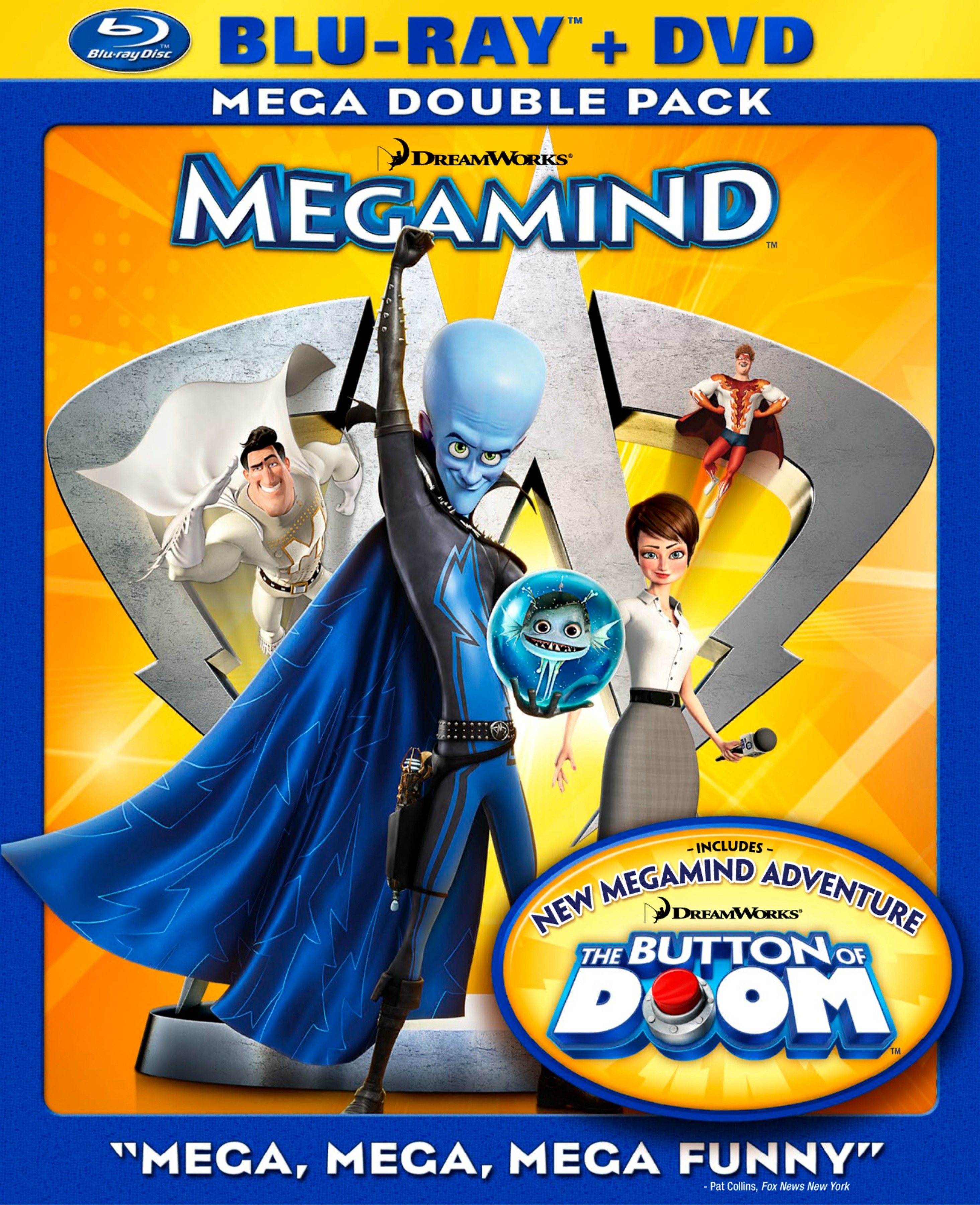 Megamind Blu-ray Cover