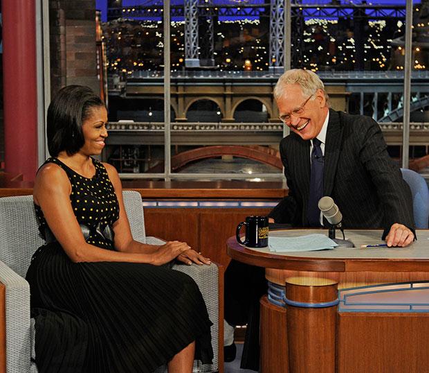 Michelle Obama Letterman