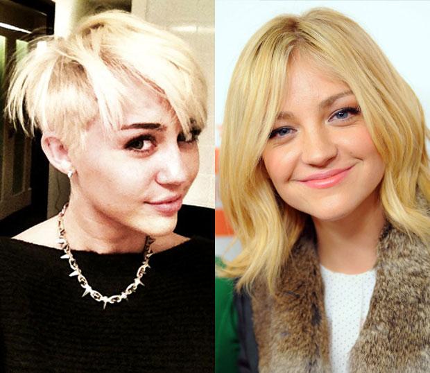 Miley Cyrus Abby Elliott
