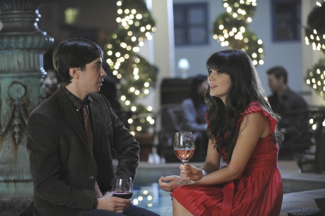 New Girl Justin Long Zooey Deschanel