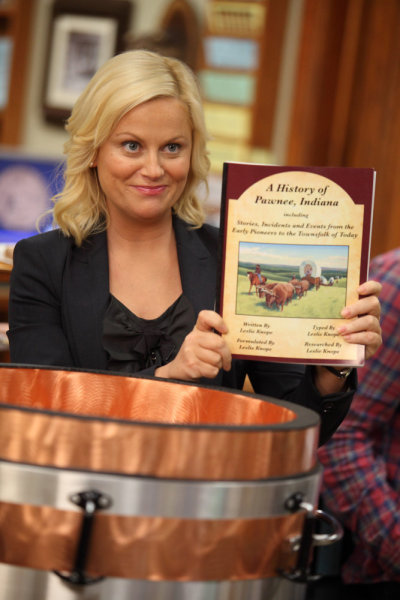Amy Poehler Parks and Rec Leslie Knope Time Capsule