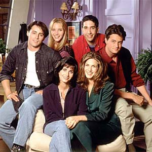 cast of friends oscar host