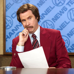 ron burgundy oscar host