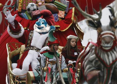 Papa Smurf Santa
