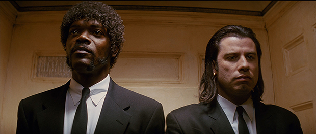 Samuel L. Jackson and John Travolta in Pulp Fiction