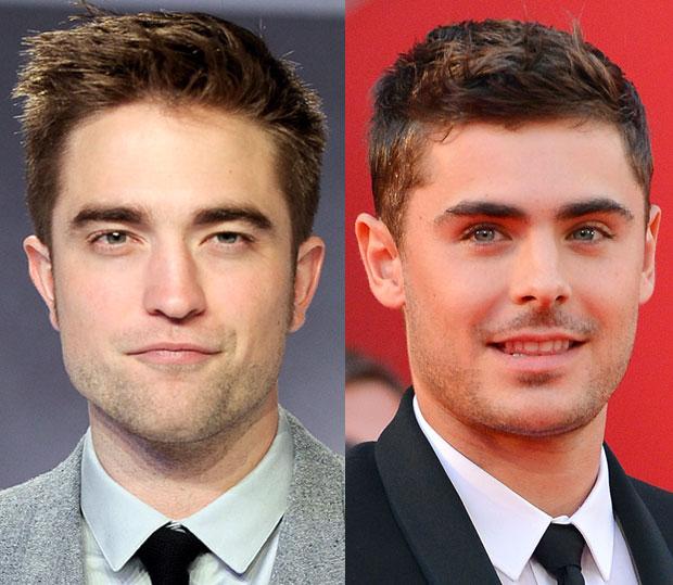 Rob Pattinson Zac Efron plastic surgery