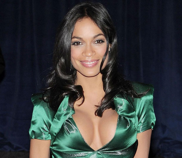 Rosario dawson too much cleavage for the white house pic