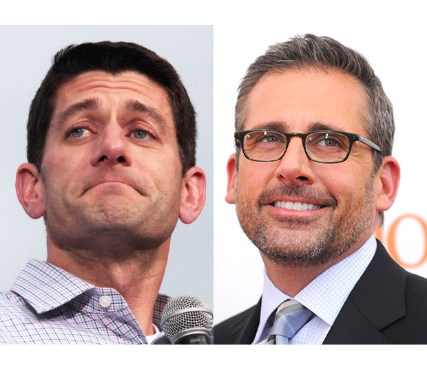 Paul Ryan/Steve Carell