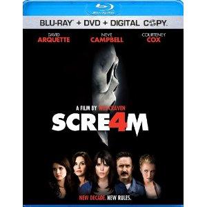 Scream 4 Blu