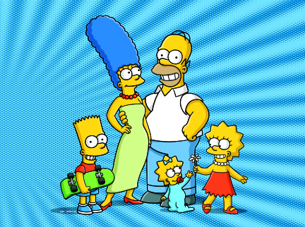 The Simpsons cast photo