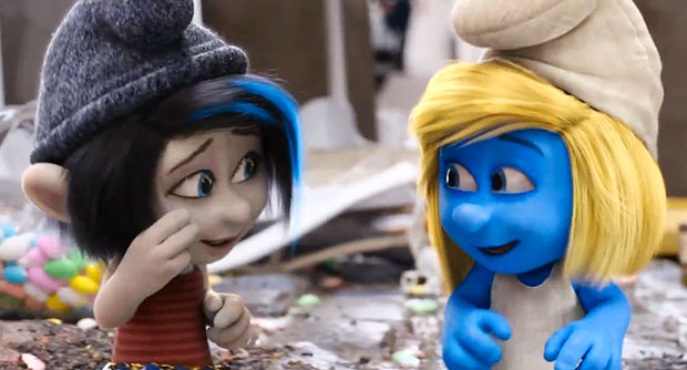 girl smurf cartoon