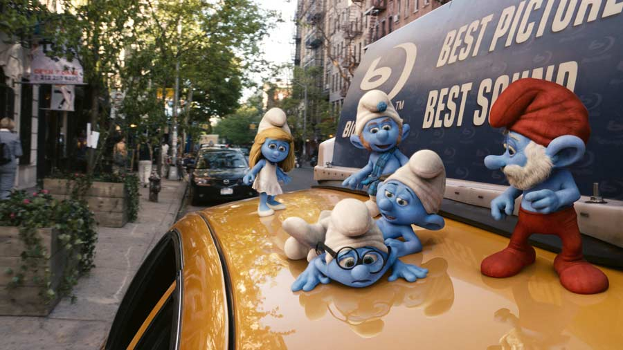 The Smurfs new image