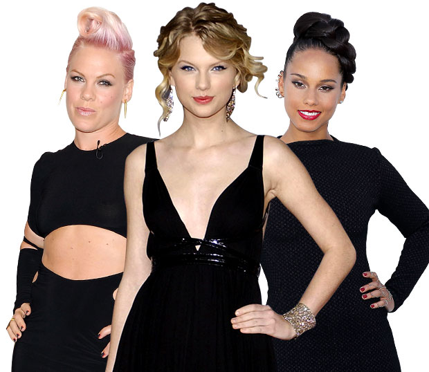 Taylor Swift Alicia Keys Pink