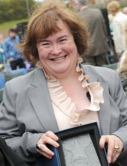 Susan Boyle graduates