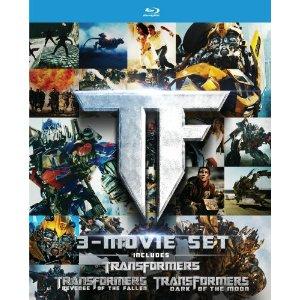 Transformers Trilogy Blu