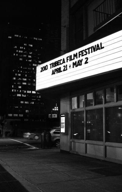 Tribeca Film Festival Marquee