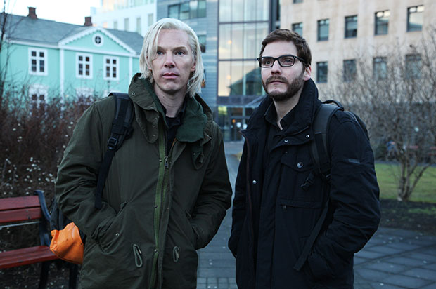 Benedict Cumberbatch as Julian Assange in The Fifth Estate
