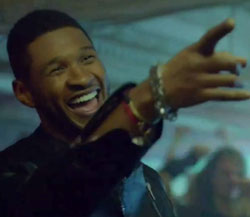 usher super bowl