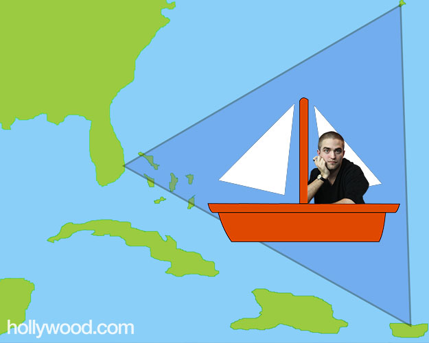 Robert Pattinson Bermuda Triangle