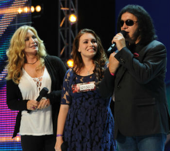 X_Factor_gene_simmons_daughter_audition.