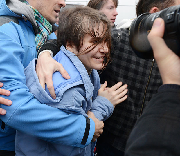 pussy riot freed