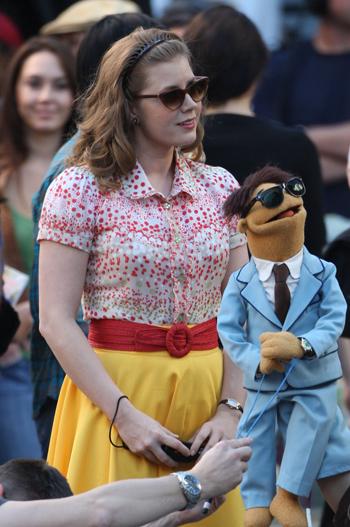 Amy Adams Wardrobe The Muppets