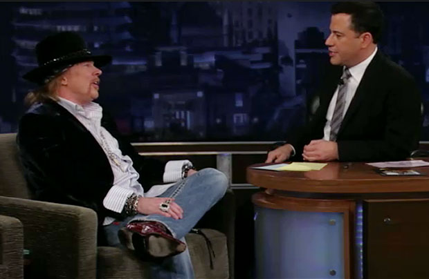 axl rose jimmy kimmel