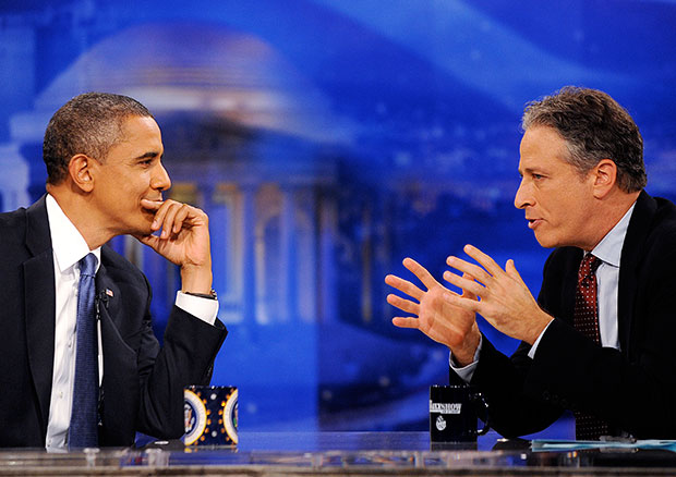 Barack Obama / Jon Stewart