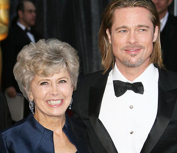 Brad Pitt mom Obama