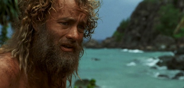 nature in the movie cast away Without food or water, the castaway has to find the means to survive he learns,  quickly, to find fresh water he then harvests coconuts, after almost getting.