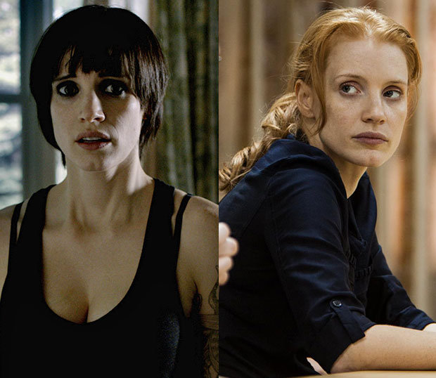 Jessica Chastain in Zero Dark Thirty Battles Against Herself