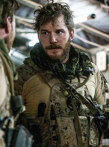Chris Pratt Zero Dark Thirty