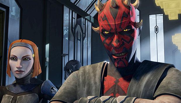 Star Wars The Clone Wars Sees Jon Favreau's Pre Vizsla Get Mauled