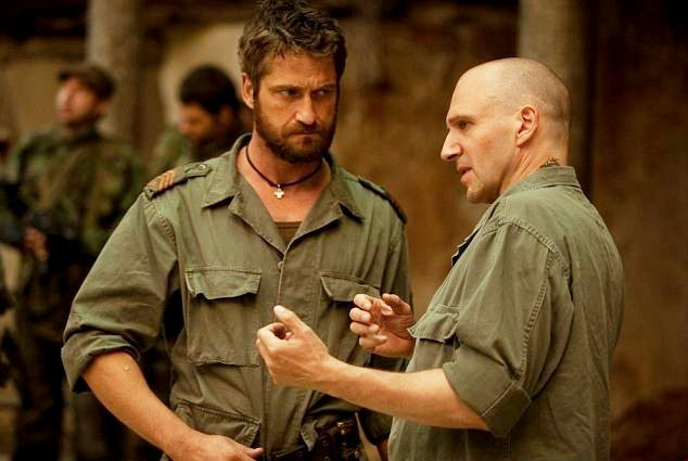 Ralph Fiennes and Gerard Butler in 'Coriolanus'