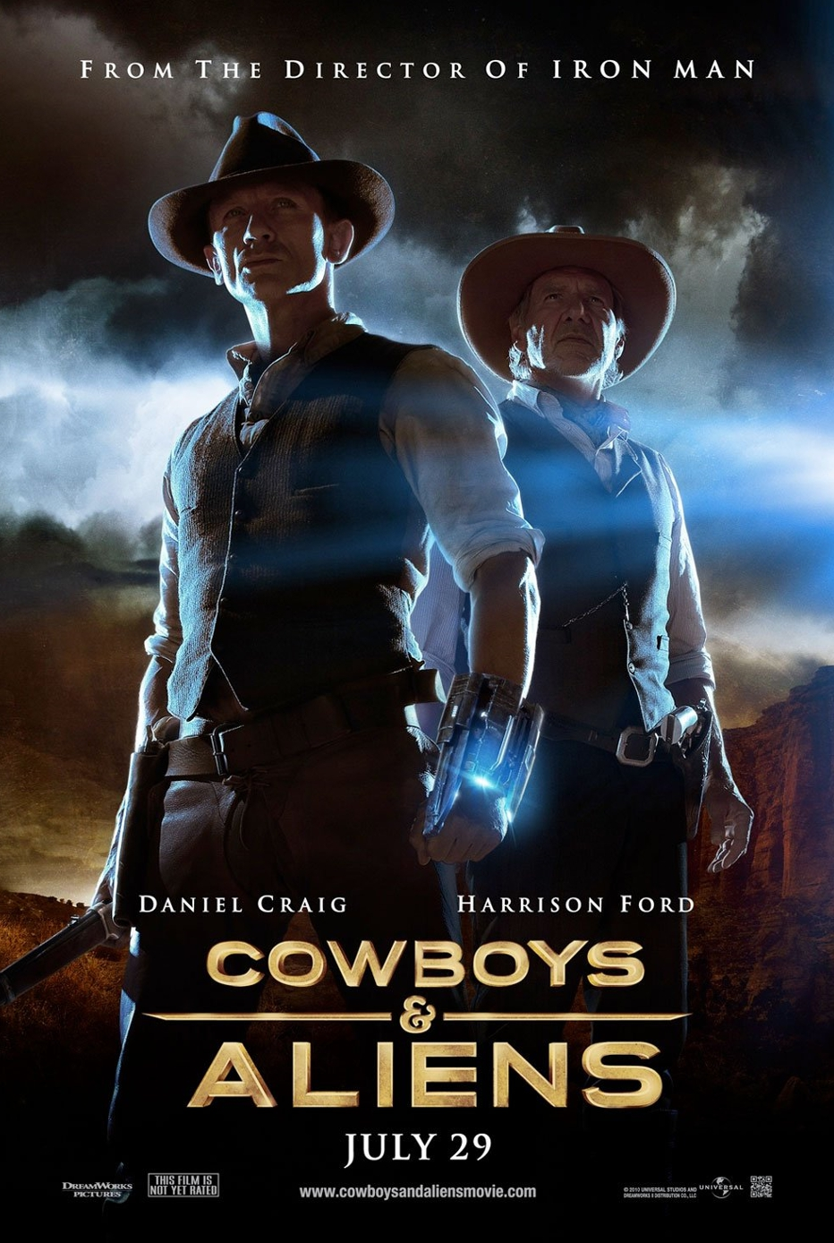 Cowboys and Aliens poster