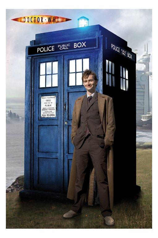 Doctor Who David Tennant Tardis