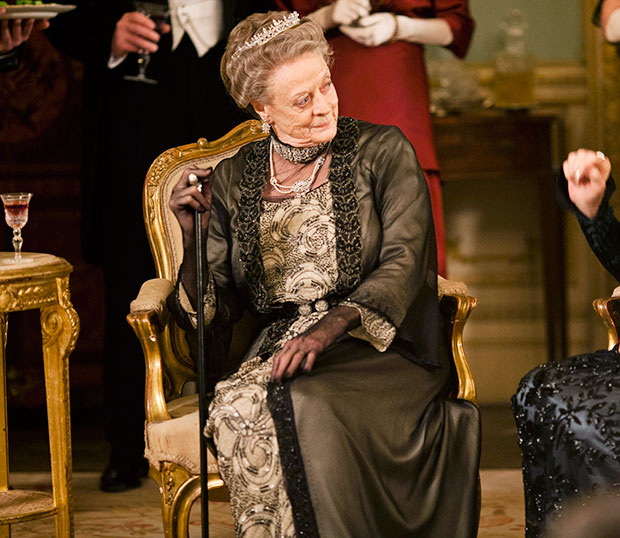 Maggie Smith Dowager Countess