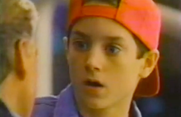 Elijah Wood was in a super bowl commercial before he was famous