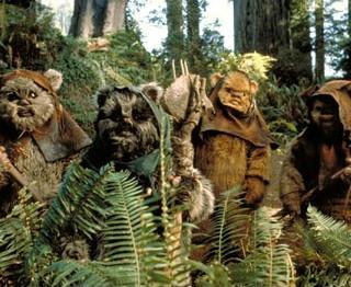 Return of the Jedi Ewoks