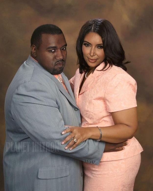 Fat Kim and Kanye