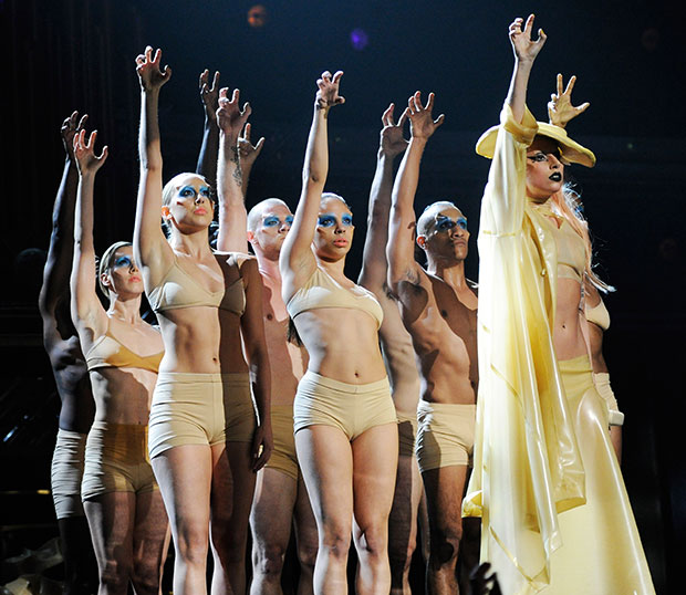 Lady Gaga Born This Way Grammys