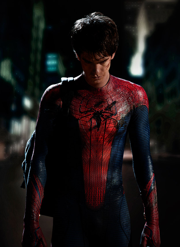 Andrew Garfield as Spider-Man