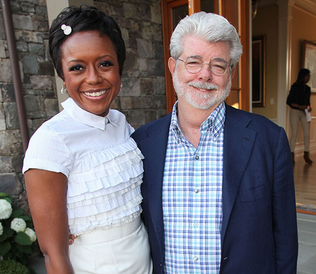 'Star Wars' Director George Lucas Engaged To Mellody Hobson