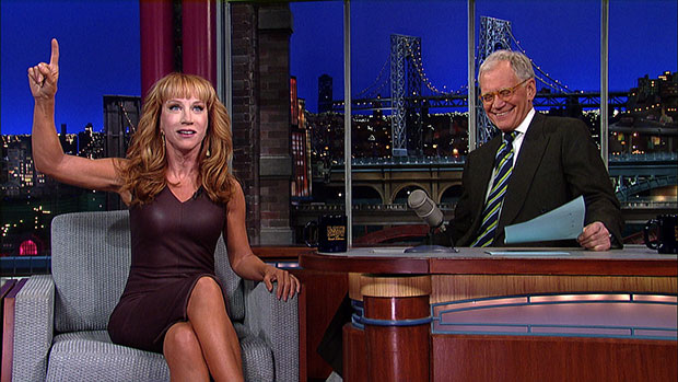 kathy griffin anderson cooper letterman