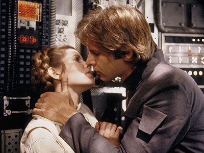 Star Wars Han and Leia Empire Strikes Back