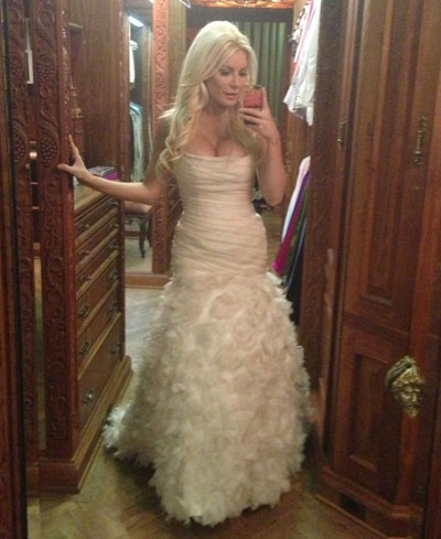 Hugh Hefner Crystal Harris Wedding