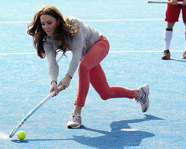 Kate Middleton Hockey
