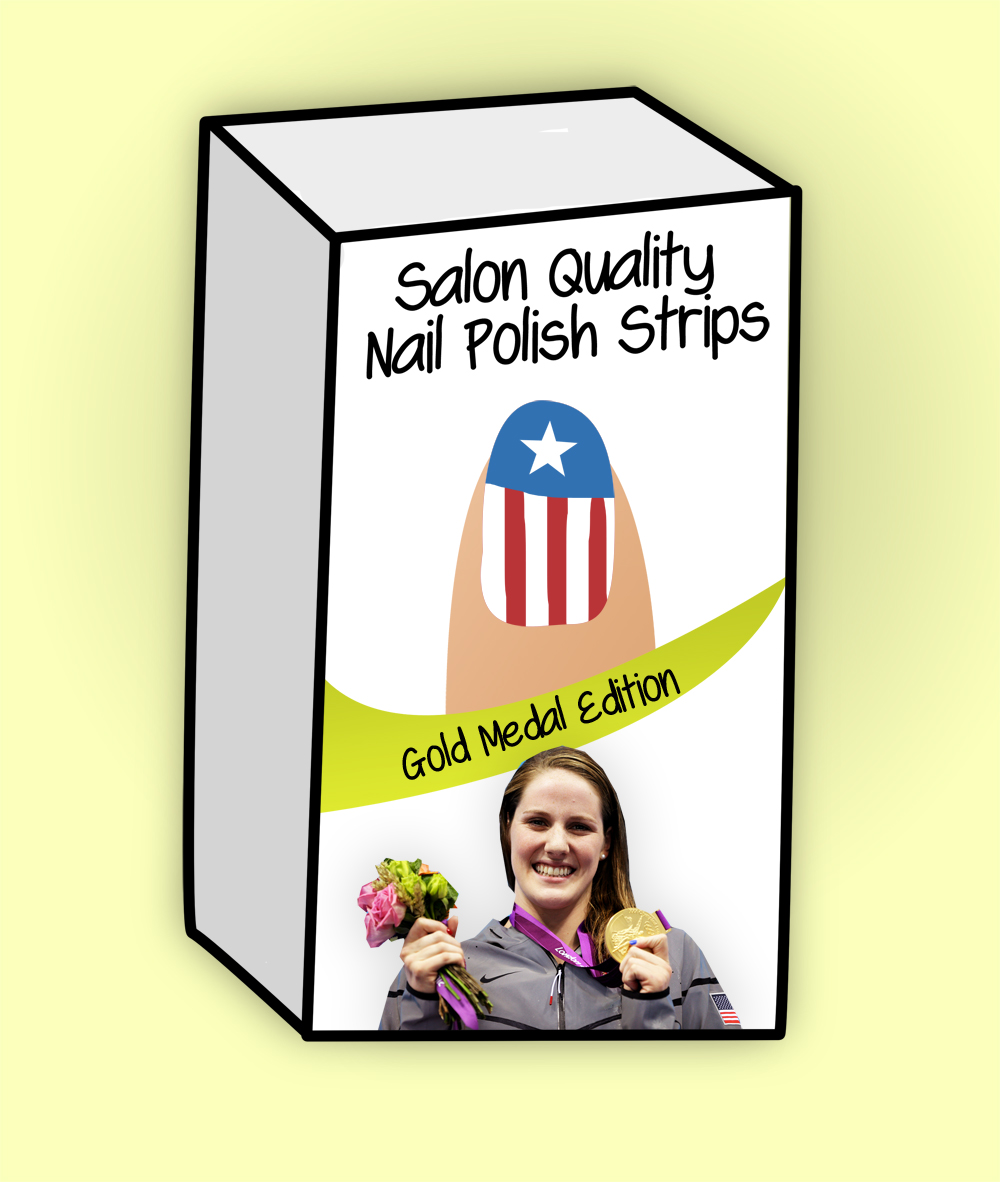 Missy Franklin's Nails