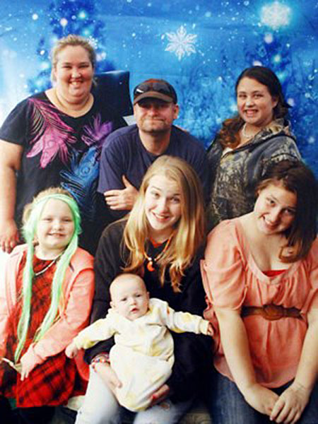Honey Boo Boo Christmas Card