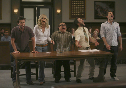 It's Always Sunny The Gang Yelling